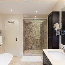 Badsanierung - modernes Badezimmer