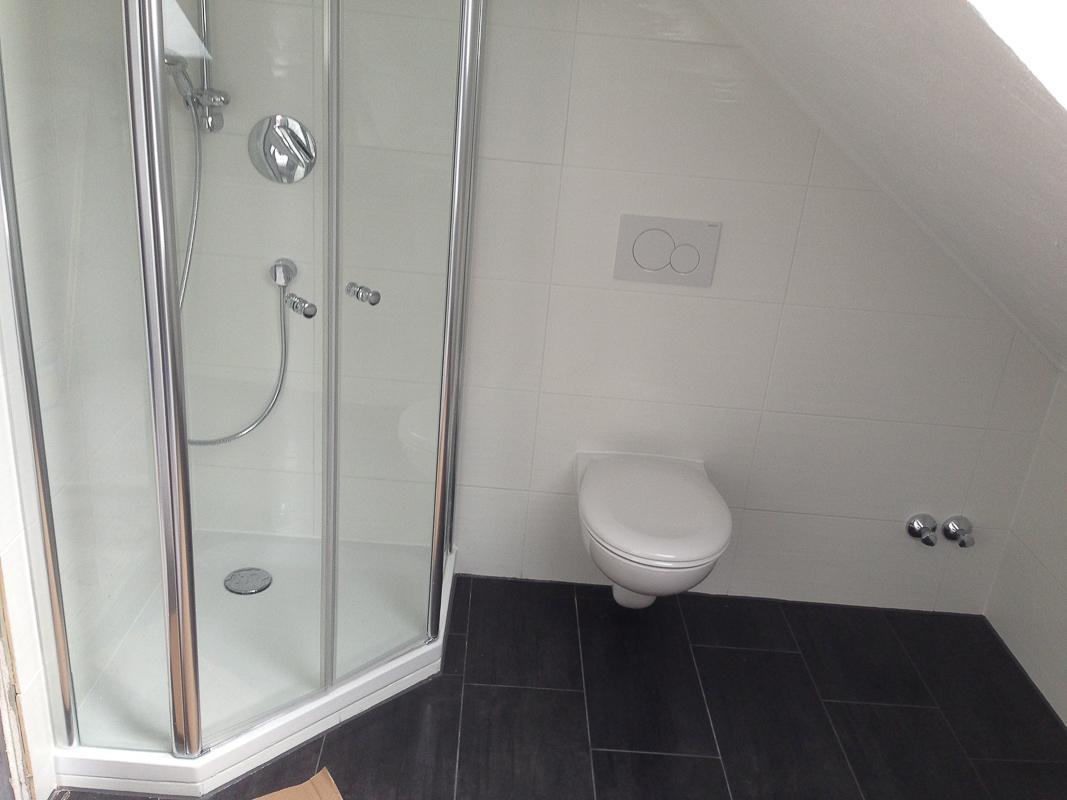 Badsanierung Dusche und Toilette neu