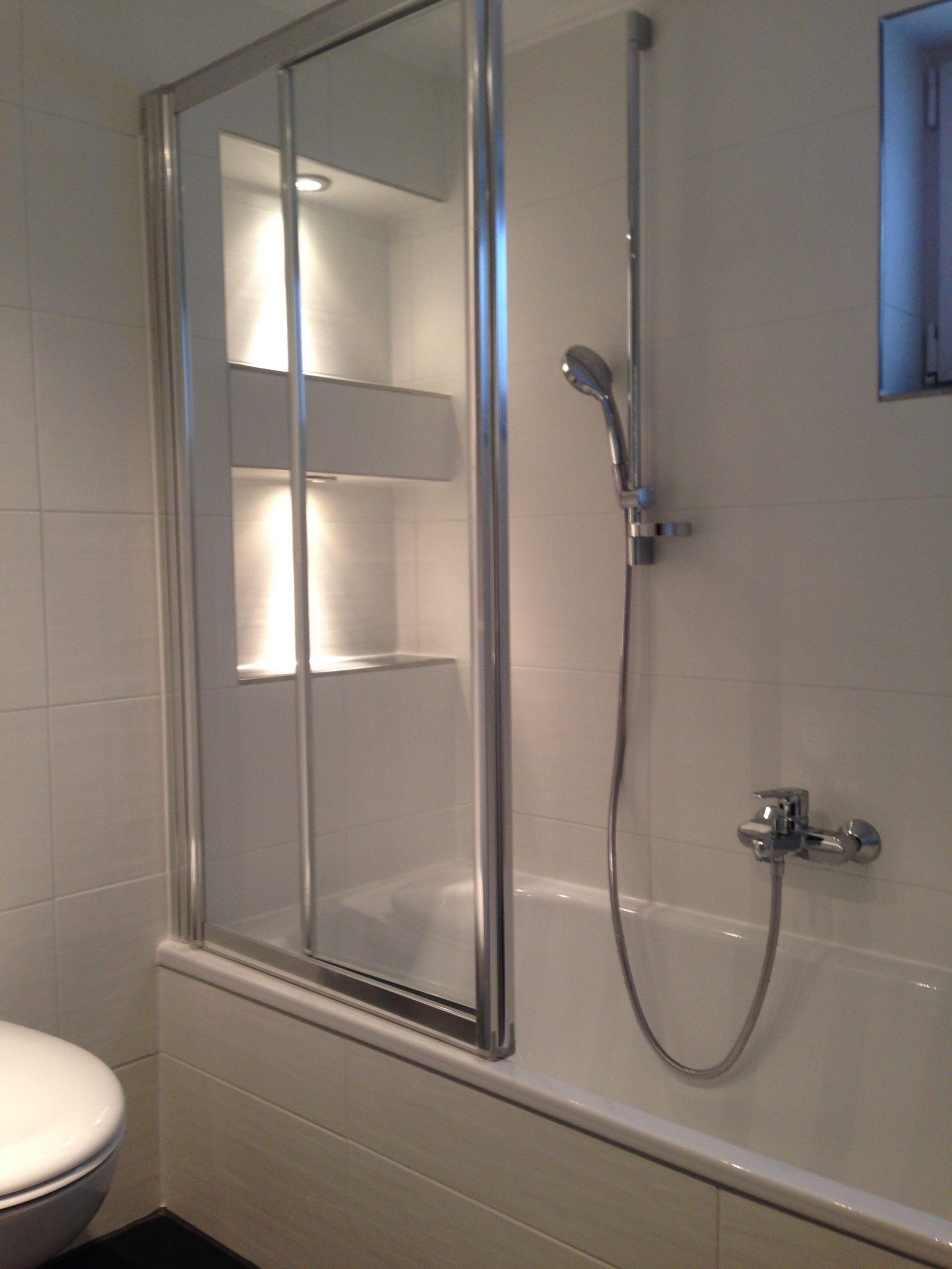 Duschbadewanne nach Renovierung