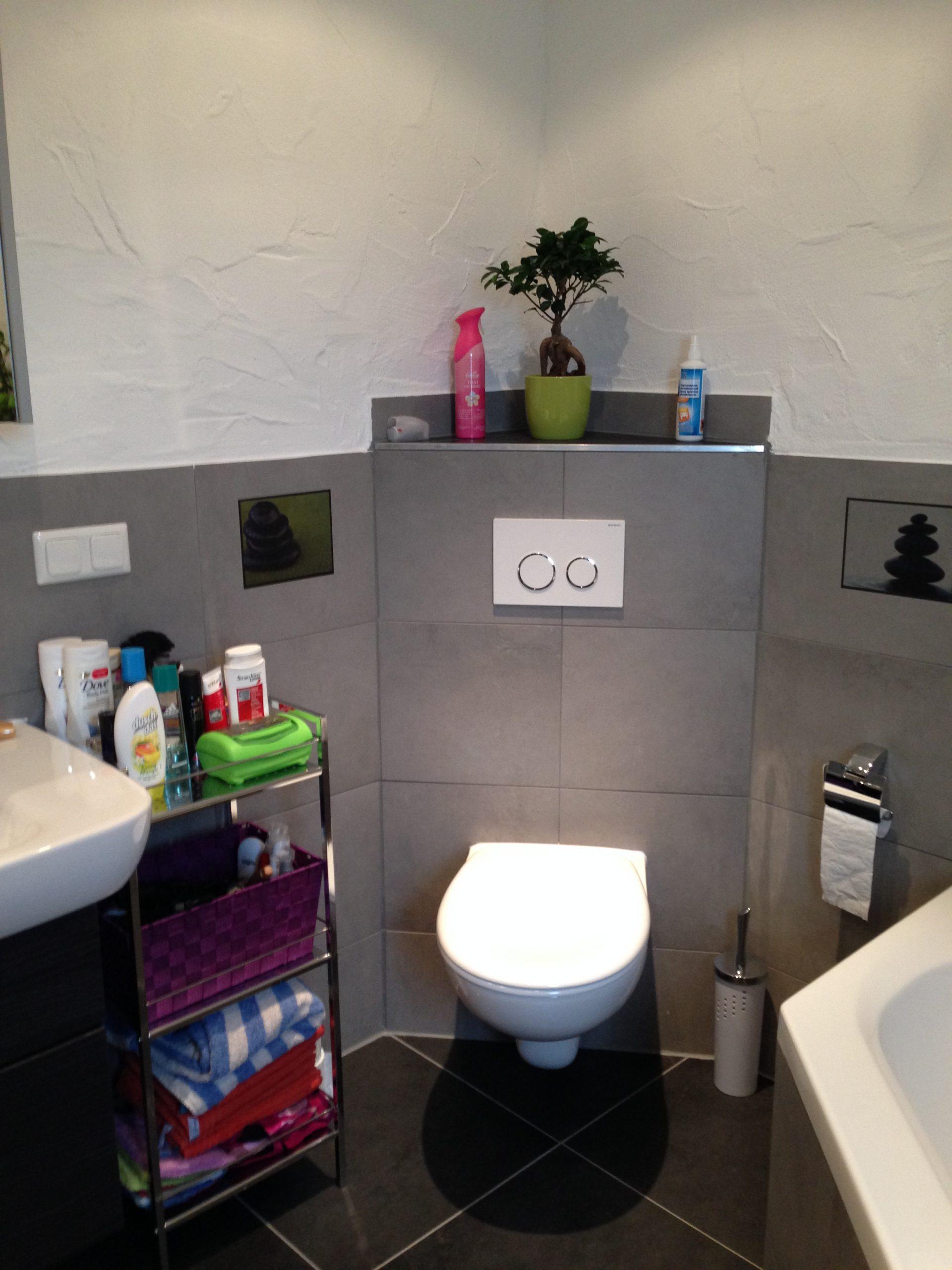 Neues Badezimmer Toilette