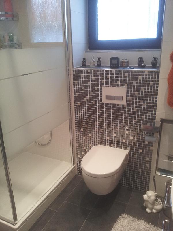 Toilette nach Badrenovierung