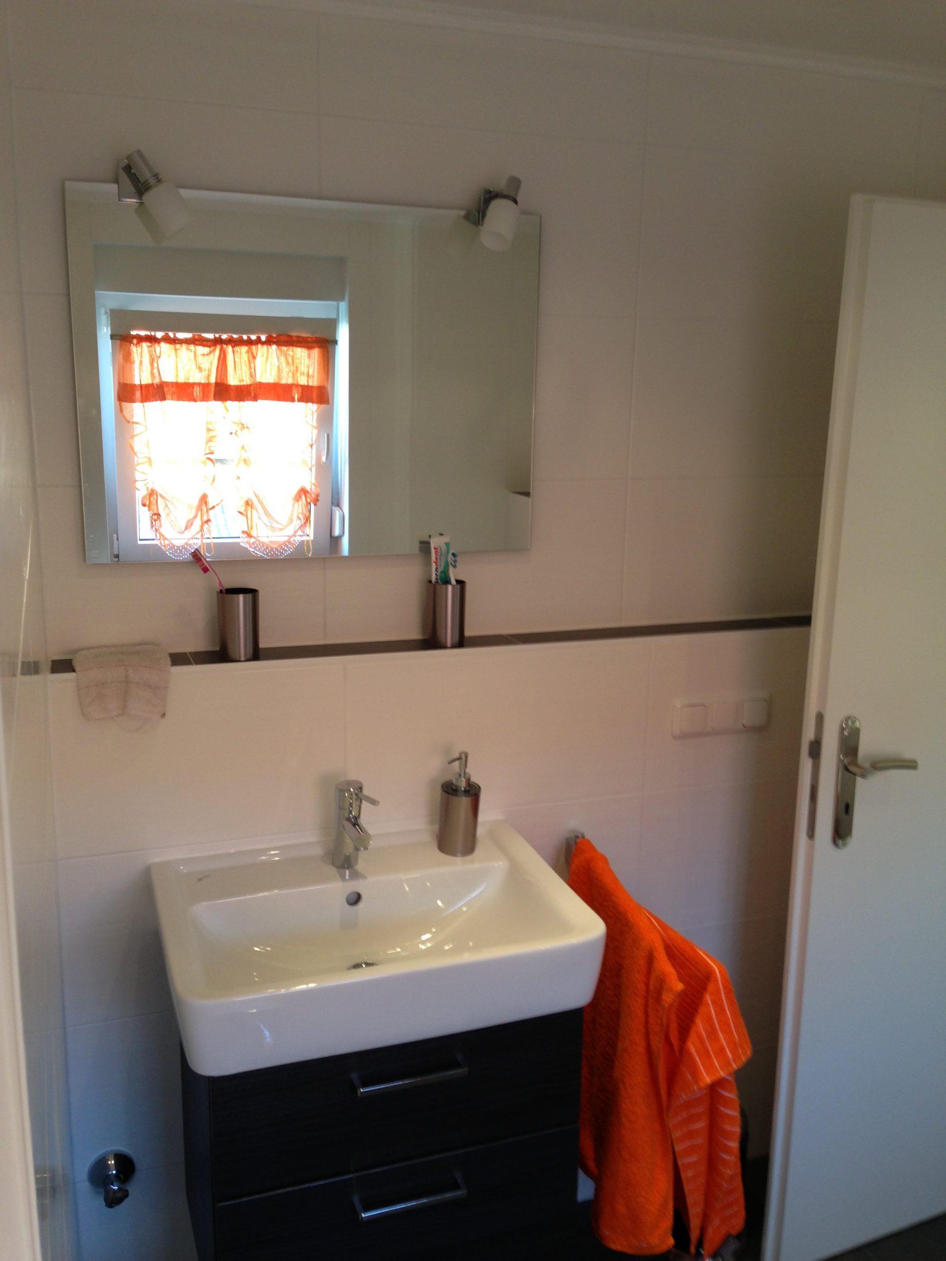 Waschbecken nach Renovierung